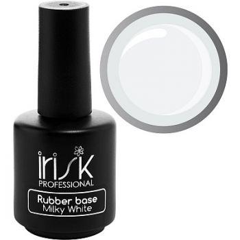 IRISK, База каучуковая камуфлирующая Rubber Base Milky White, 18мл