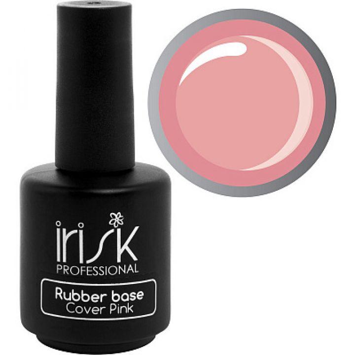 IRISK, База каучуковая камуфлирующая Rubber Base Cover Pink, 18мл