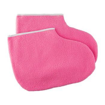 Irisk, Валенки косметические для спа процедур розовые, 2 шт.