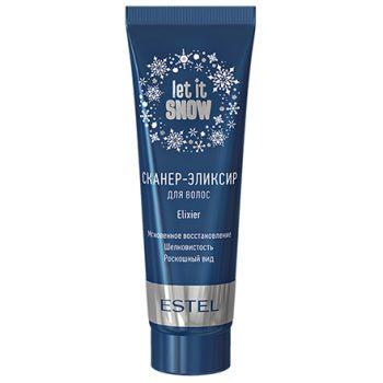 Estel, Сканер-эликсир для волос Let It Snow, 50 мл