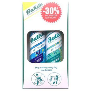 Batiste, набор сухих шампуней (Original, 200 мл и Fresh, 200 мл)
