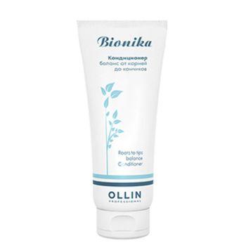 OLLIN, Кондиционер BioNika «Баланс от корней до кончиков», 200 мл