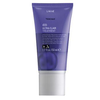 Lakme, Средство для блеска светлых волос Ultra Clair Treatment, 50 мл