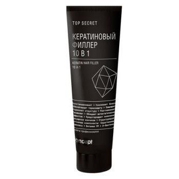 Concept, Кератиновый филлер для волос 10 в 1, 100 мл