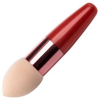 Irisk, Beauty Sculptor, Кисть-спонж для макияжа каплевидная (оранжевая)