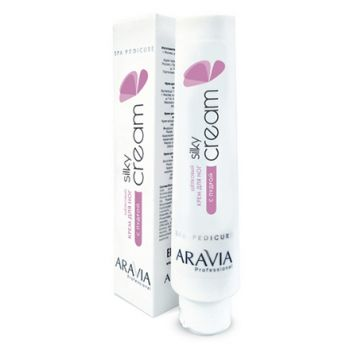 Aravia Professional, Шёлковый крем для ног Silky Cream, 100 мл