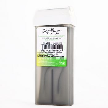 Depilflax, воск в картридже 110 г, серебро (платина)