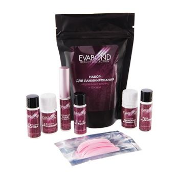 EVABOND, Набор для ламинирования ресниц и бровей Beauty Collection