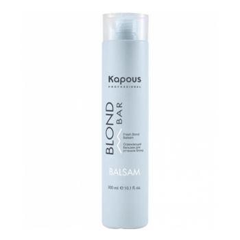 Kapous, Бальзам для волос оттенков блонд Blond Bar, 300 мл