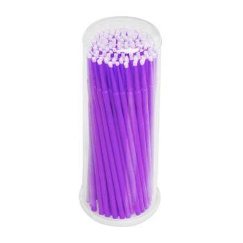 IRISK, Микрощеточки в баночке, M, фиолетовые, 90-100 шт.