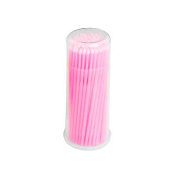 IRISK, Микрощеточки в баночке, L, розовые, 90-100 шт.