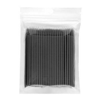 IRISK, Микрощеточки в пакете, XS, черные, 100 шт.