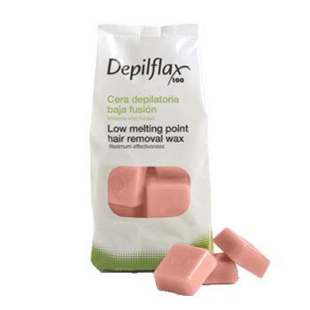 Depilflax, Воск горячий в брусках, розовый, 1 кг