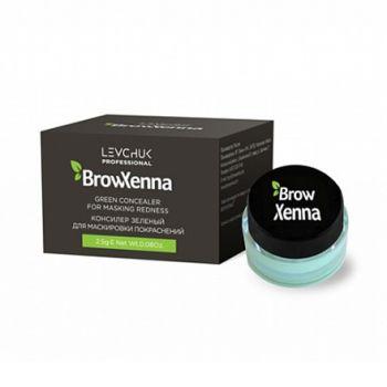 BrowXenna, Консилер зеленый, 2,5 г