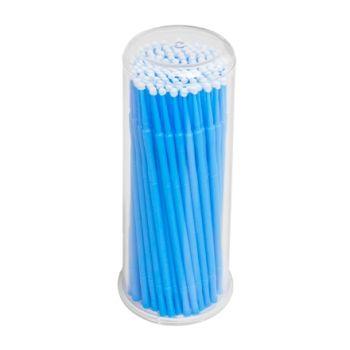 IRISK, Микрощеточки в баночке, L, синие, 90-100 шт.