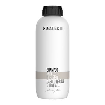 Selective Professional, Шампунь для слабых и поврежденных волос Midollo, бамбук, 1000 мл