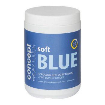 Concept, Порошок для осветления волос (Soft Blue Lightening Powder), 500 г