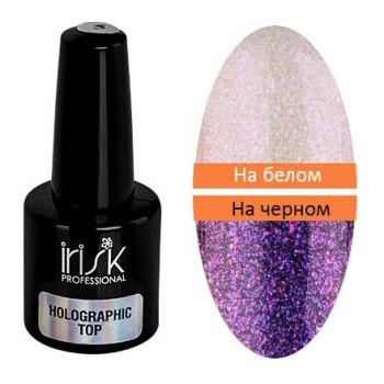 IRISK, Топ для гель-лака Holographic №02, 5 мл