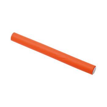 Dewal, Бигуди-бумеранги, оранжевые, 18х180 мм