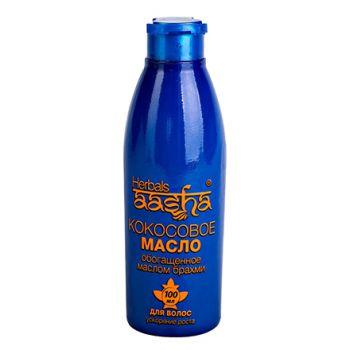 Aasha Herbals, Кокосовое масло с брахми для волос, 100 мл