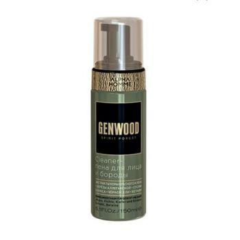Estel, Cleaner-пена для лица и бороды Genwood, 150 мл