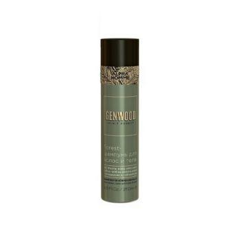 Estel, Forest-шампунь для волос и тела Genwood, 250 мл