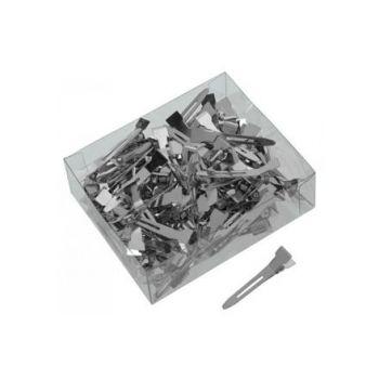 Dewal, Зажим для волос, металлический, 3 см, 100 шт.