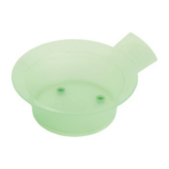 Dewal, Чаша с резинкой и ручкой, зеленая, 300 мл
