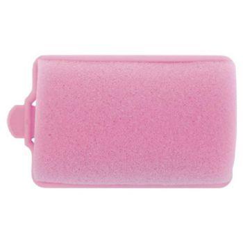 Dewal, Бигуди поролоновые, розовые, 38 мм