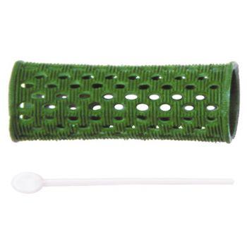 Dewal, Бигуди пластиковые, зеленые, 26 мм