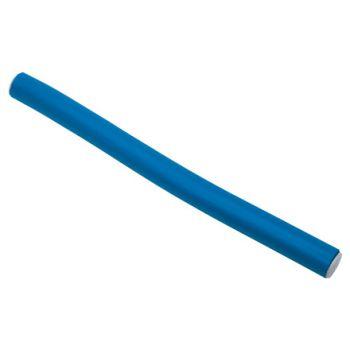 Dewal, Бигуди-бумеранги, синие, 14х180 мм
