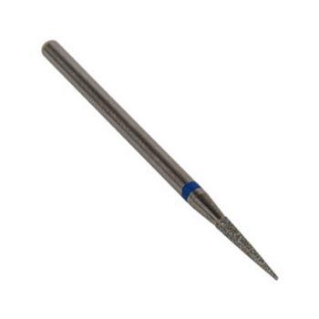 IRISK, Фреза алмазная игловидная острая D=1,6 мм, синяя, средняя зернистость