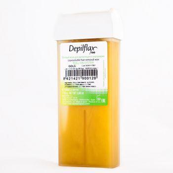 Depilflax, воск в картридже 110 г, золотой