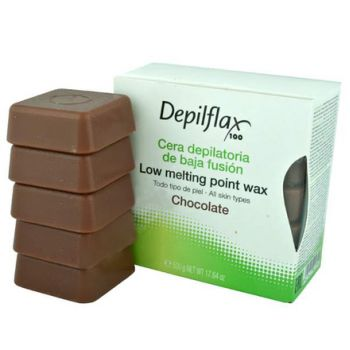 Depilflax, воск горячий 0,5 кг, какао (шоколад)