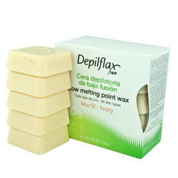 Depilflax, воск горячий 0,5 кг, слоновая кость