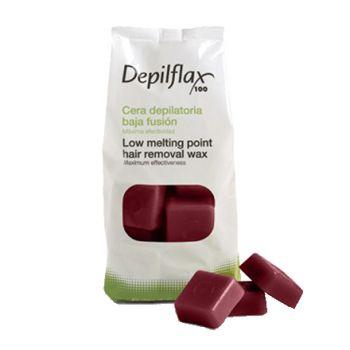 Depilflax, воск горячий 1 кг, вино