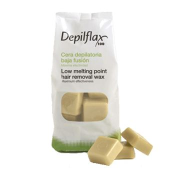 Depilflax, воск горячий 1 кг, слоновая кость