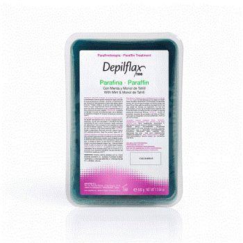 Depilflax, парафин косметический 500 г, ментол + монои таити
